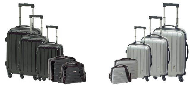 London Beautycase Schminkkoffer Kosmetik Koffer Make Travel Bag
