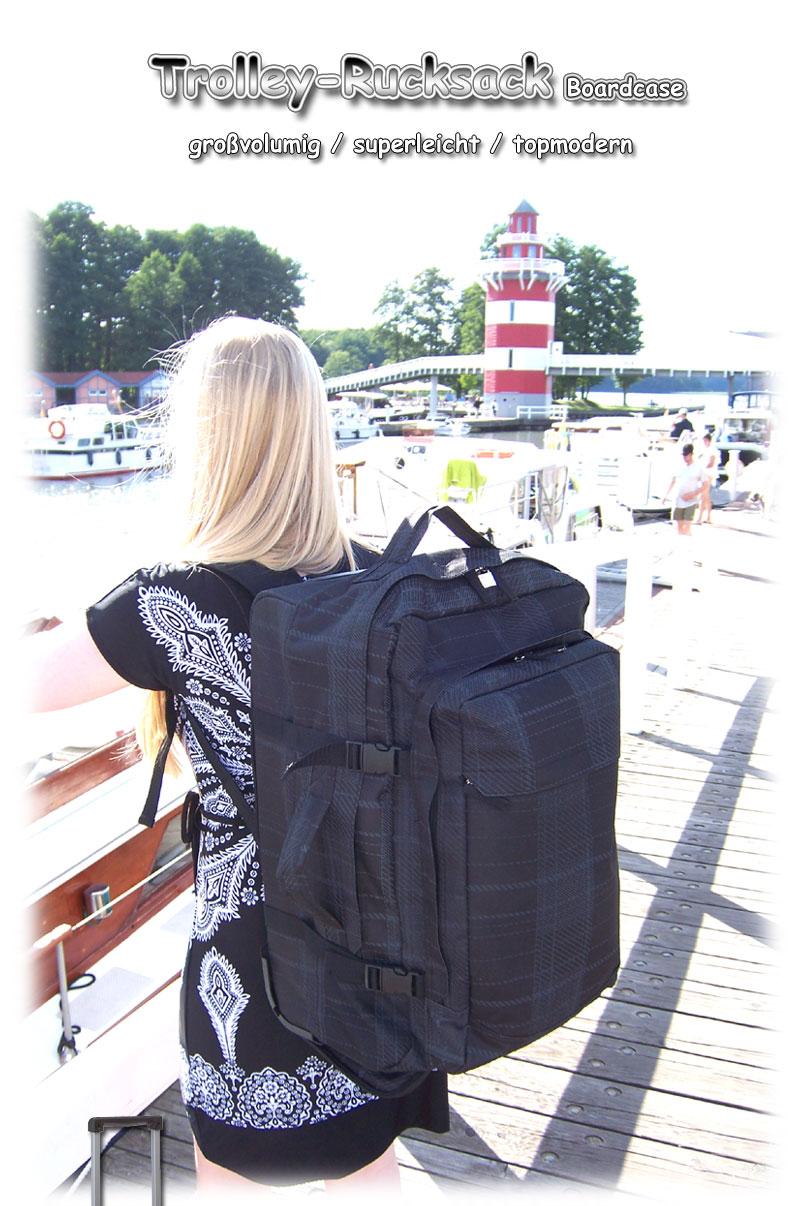 Boardcase Rucksack Trolley Rucksack Trolly Koffer Reisetasche Single ...